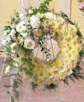Pure White Beauty Wreath