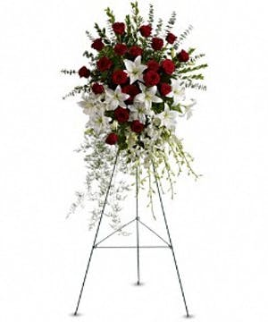 Lily & Rose Tribute Spray