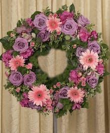 Soft Colored Wreath