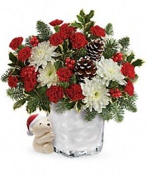 Send a Hug® Bear Buddy Bouquet