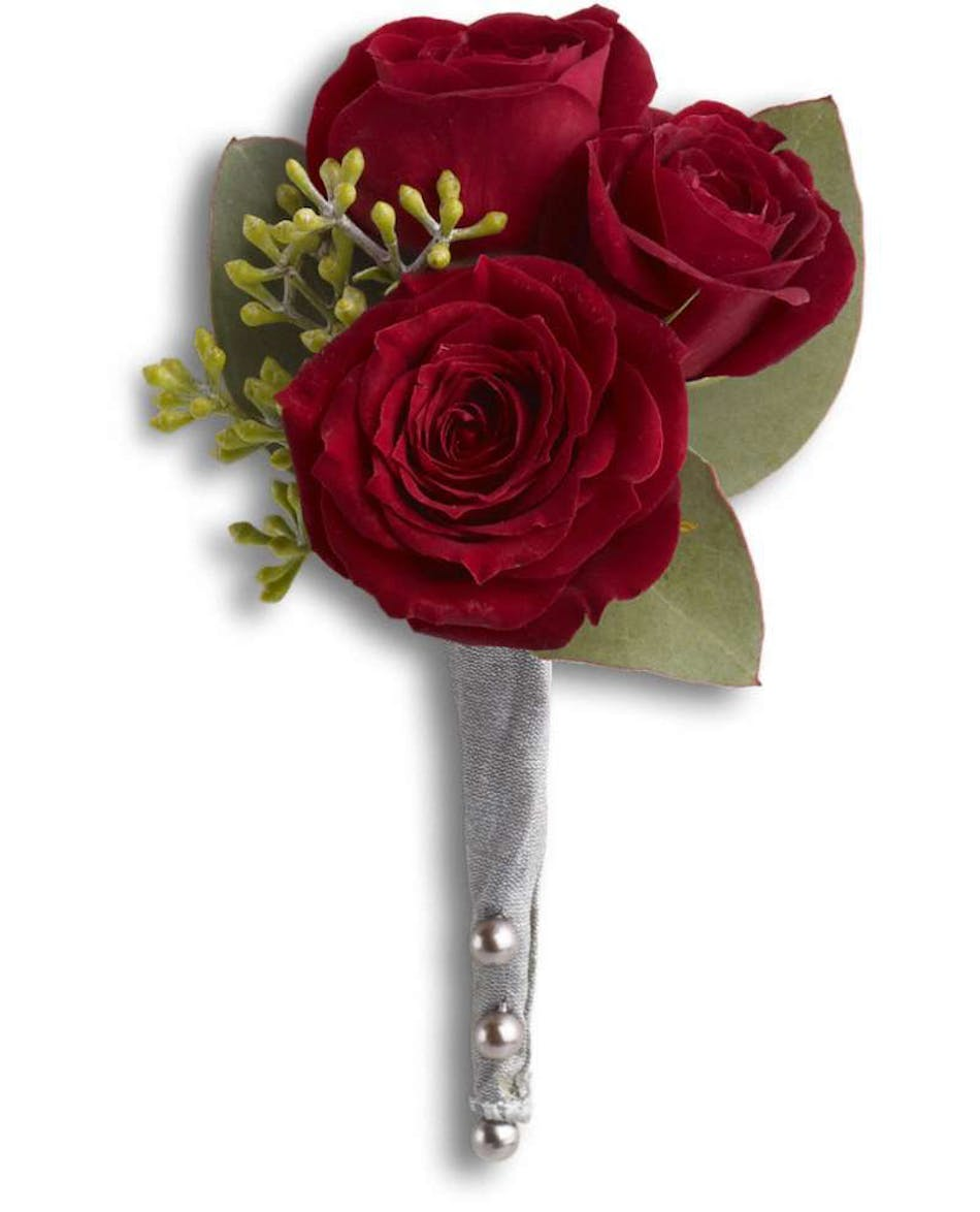 Kings red rose boutonniere rochester prom flowers izmirmasajfo