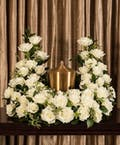 White Rose Cremation Arrangement