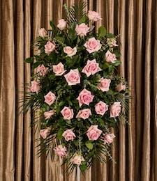 Pink Rose Standing Spray