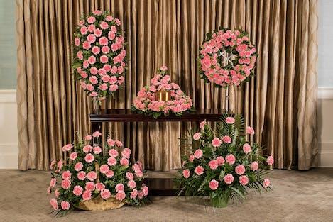 Pink Carnations Memorial