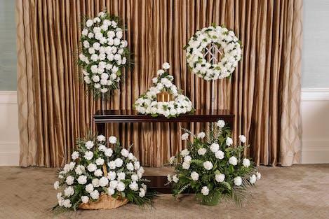 White Carnations Memorial